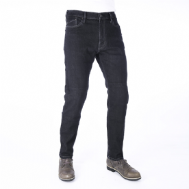 Oxford Slim Fit 2 year Aged Jeans Black  Short Leg